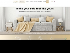 Covers for custom-made sofas